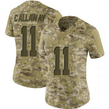 Women's Antonio Callaway Cleveland Browns Limited Camo 2018 Salute to Service Jersey