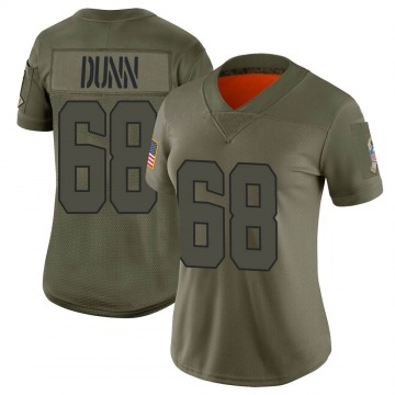 Women's Michael Dunn Cleveland Browns Limited Camo 2019 Salute to Service Jersey