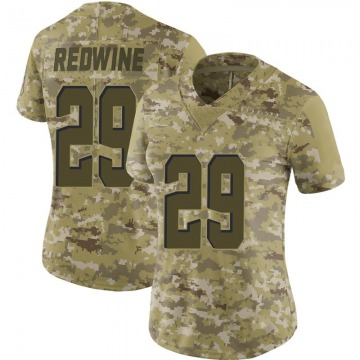 Women's Sheldrick Redwine Cleveland Browns Limited Camo 2018 Salute to Service Jersey