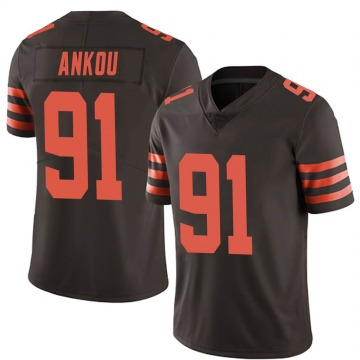 Youth Eli Ankou Cleveland Browns Limited Brown Color Rush Jersey