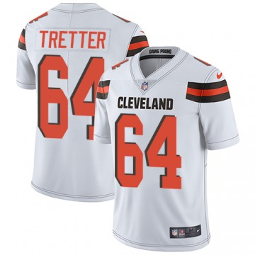 Youth JC Tretter Cleveland Browns Limited White Jersey
