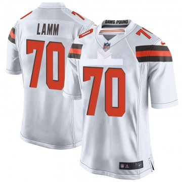 Youth Kendall Lamm Cleveland Browns Game White Jersey