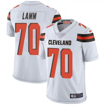 Youth Kendall Lamm Cleveland Browns Limited White Vapor Untouchable Jersey